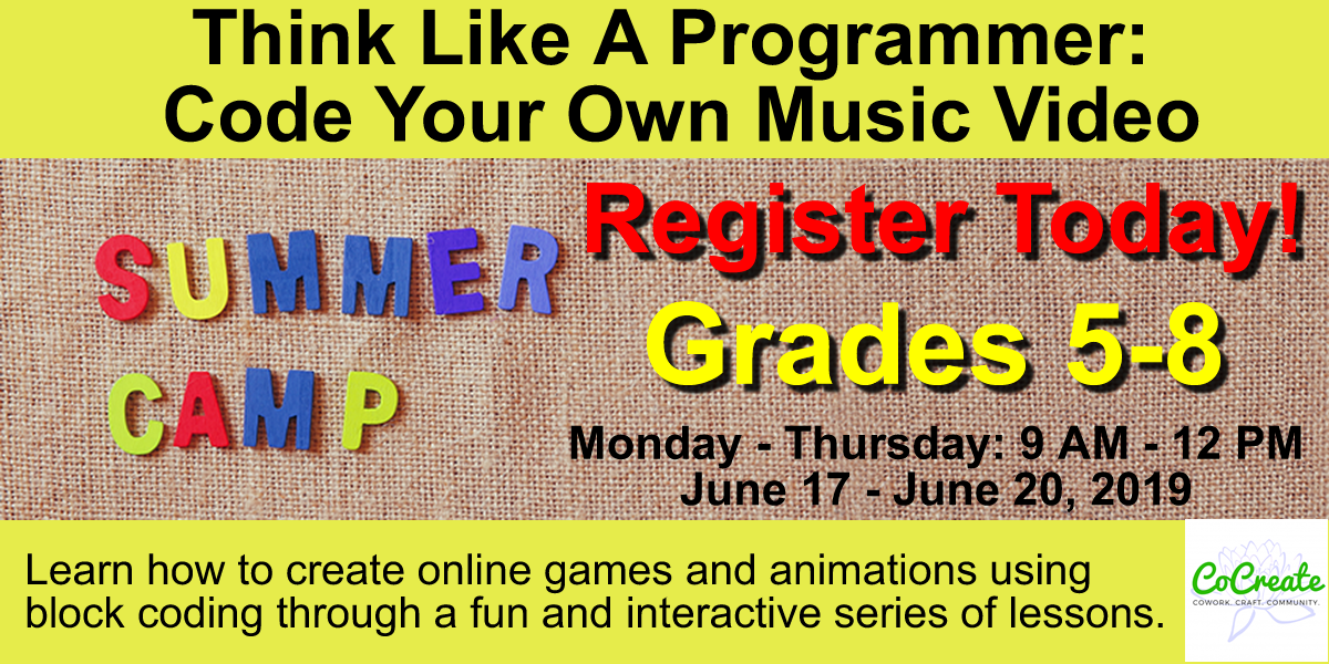 Summer Camp 2019 cocreate